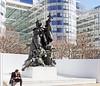 18 0546 - Paris-La Défense, la Défense de Paris (Louis Ernest Barrias) (Jean-Pierre Ossorio) Tags: paris ladéfense sculpture statue statuaire monument commémoration