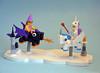 Dragon Vs. Winged Unicorn (IamKritch) Tags: lego classiccastle castle coinoperatedride collectableminifigure dragon unicorn girl pegasus
