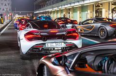 McLaren Family (JayRao) Tags: abudhabi yasmarina uae pirelli middleeast supercar mclaren 720s 570gt 12c 650s lamborghini aventador v12 v8 jayr nikon d610 nikkor 2470 fx february 2018 trackday