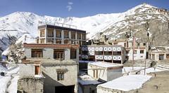 India (richard.mcmanus.) Tags: india himalayas ladakh monastery mountains mcmanus buddhism ancient historic buildings snow winter lamayuru