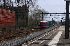 Spoorwegmuseum DE 1 te Gouda (vos.nathan) Tags: ns nederlands spoorwegmuseum de1 gouda gd blauwe engel 41