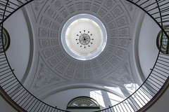 The pi of my eye (sniggie) Tags: frankfort kentucky oldcapitolbuilding architectgideonshryock architecture cupula dome stairwell