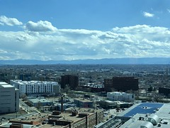 View toward the mountains in Denver today (dionhinchcliffe) Tags: moblog iphonepics