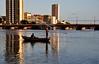 for a good day ahead (Ruby Ferreira ®) Tags: riocapibaribe river fishermen pescadores boats barcos reflection reflexos buildings prédios city cidade rededepesca net
