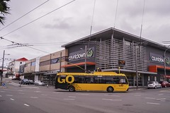 Newtown - Riddiford St, Adelaide Rd, John St intersection (andrewsurgenor) Tags: transit transport publictransport nzbus gowellington electric trackless trolleybus trolleybuses wellington nz streetscenes bus buses omnibus yellow obus busse citytransport city urban newzealand