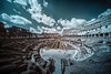 Colosseum IR (HMeye Photo) Tags: infrared rome italy archite ultrawideangle voigtlander voigtlander10mm sonya7 travel