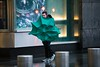 Daily life imagery shot in rainy conditions in Columbus Circle during the morning commute on Monday, April 16, 2018. Benjamin Kanter/Mayoral Photo Office. (nycmayorsoffice) Tags: shotforthemayorsoffice weather rain rainy raining boroughs manhattan newyorkcounty midtown columbuscircle cs umbrella street