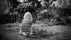 spürbar anders (F. Montino) Tags: child bw blackandwhite grain spürbaranders nikon digital monochrome portraitchild portrait bokeh 50mm18