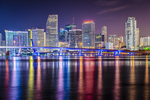 "Miami Florida Skyline • <a style=""font-size:0.8em;"" href=""http://www.flickr.com/photos/151084956@N05/26771854427/"" target=""_blank"">View on Flickr</a>"
