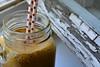 DSC_0306 (Tijana Đukin) Tags: coffee glass foam old window wood straws dots