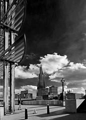 MODERN ARCHITECTURE (37) B&W (Padski1945) Tags: skyscraper modernarchitecture modernbuildings architecture building buildings buildingsoflondon london londonbuildings londonscenes londonarchitecture abstract theshard