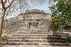 The Smiling Maya Ruins at Chacchoben, Quintana Roo, Mexico (Jill Clardy) Tags: 2018 cruise ncl norwegiancruiselines repositioning chacchoben maya mayan ruins stone pyramid smile smiling stair steps jungle quintana roo mexico archeology archaeological 201804119l8a1144 365the2018edition 3652018 day101365 11apr18
