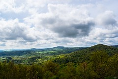 Green Hills and Clouds (TristanLohengrin) Tags: landscape paysage hill colline green vert ciel sky clouds nuages hdr lumière light soleil sun photography photographie nature france auvergne printemps spring nikon d5300 dark sombre verdure montagne mountain land pays country countryside campagne
