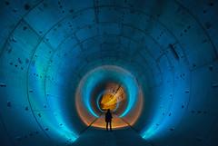 Pánico en el túnel (Andrés Domínguez Rituerto) Tags: urbex tunnel túnel longexposure largaexposición light sony slta99v carlzeiss