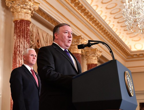 Secretary Pompeo Delivers Remarks at his Ceremonial Swearing-In
