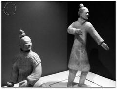 Terracotta Warriors (zweiblumen) Tags: terracottawarriors ancient china chinese worldmuseum liverpool merseyside england uk huawei cameraphone zweiblumen picmonkey