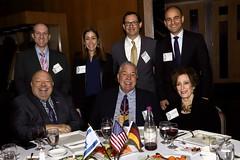 Hon. CG Hoffman and table