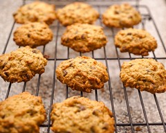 Oatmeal chocolate chip for days (celisale) Tags: chocolate oatmeal cookies homemade dessert baking