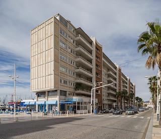 immeubles de la Frontale du port, Toulon