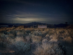 Amargosa moonglow (edwham) Tags: aprilfool deathvalley night moonrise moonglow fullmoon nocturne amargosa operahouse sage structures stars lightpainting