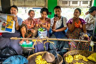 Life on the Circular Train in Yangon