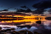 _DSC3311 (MarcusXD1974) Tags: akureyri sunset stones eyjafjörð iceland red sky nort blue orange sea water fjord long exposure golde hour clouds coast mountains bay dusk serene rocks nikon d7200 sigma 1020f35