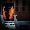 Wat Wisunarat (Peter Silvan) Tags: watwisunarat luangprabang laos monk orange temple wat
