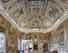 La salle des magnificences des Farnese (Palais Farnese, Caprarola, Italie) (dalbera) Tags: dalbera escalier caprarola italie palaisfarnese vignola peinturesmurales maniérisme