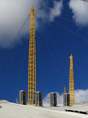 MODERN ARCHITECTURE (117) The Millennium Dome (Padski1945) Tags: skyscraper modernarchitecture modernbuildings architecture building buildings buildingsoflondon london londonbuildings londonscenes londonarchitecture abstract themilleniumdome