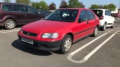 (Sam Tait) Tags: 1997 14 car 90's red civic honda