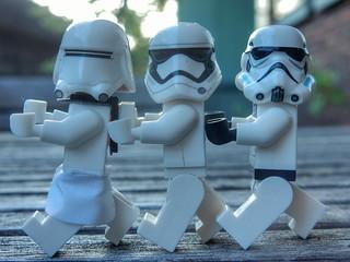 Dancing troopers