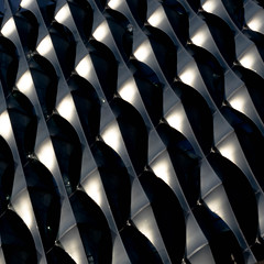 US Embassy#4 (morbs06) Tags: etfe kierantimberlake london usembassy abstract architecture building city colour curves facade light lines pattern repetition shading shadow square stripes