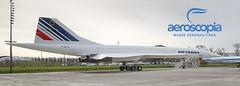 117x42mm // Concorde Air France // Aeroscopia