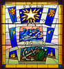 This is the day! (RiverCrouchWalker) Tags: easter thisistheday stainedglass stcatherines easttilbury daffodils newlife happyeaster star sun waves anchor flowers bulbs