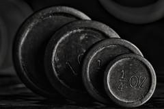 weights (sure2talk) Tags: macromondays backintheday weights vintage old nikond7000 nikkor85mmf35gafsedvrmicro macro closeup