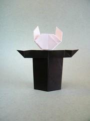 Bunny Bill - Robert Neale (Rui.Roda) Tags: origami papiroflexia papierfalten action model lapin conejo coelho bunny bill robert neale rabbit
