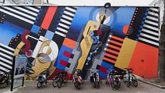 Dino Voodoo & L'Outsider (Thethe35400) Tags: artderue arteurbano arturbain arturbà arteurbana calle grafit grafite grafiti graffiti graffitis graff mural murales muralisme plantilla pochoir stencil streetart schablone stampino tag urbanart wall cinéma katorza nantes