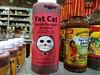 Fat Cat Bacon-Flavored Sriracha (mycat42) Tags: neworleans hotsauce frenchquarter sriracha