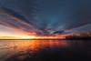 Sunrise, Chatfield State Park, Colorado (mclcbooks) Tags: sunrise dawn daybreak lake reflections clouds lakechatfield chatfieldstatepark colorado landscape