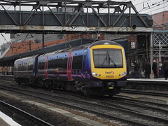 170307 (Rob390029) Tags: ftpe first transpennine express class 170 170307 doncaster railway station don train track tracks rail rails travel travelling transport transportation transit ecml east coast mainline