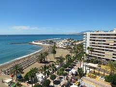 View From Our Apartment! ('cosmicgirl1960' NEW CANON CAMERA) Tags: marbella spain espana andalusia costadelsol holidays travel yabbadabbadoo blue sky