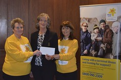 Presentation of Cheque to Marie Curie