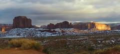 Monument Valley, Navajo Tribal Park #70 (jimsawthat) Tags: erosion geology sky clouds navajo highdesert rural arizona monumentvalleytribalpark