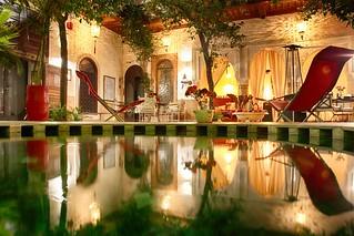 Le diner - Marrakech - Riad Rafaele