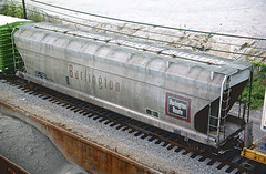 CB&Q Class LO-8B 185263 (Chuck Zeiler) Tags: cbq class lo8b 185263 burlington railroad covered hopper freight car chicago train chuckzeiler chz