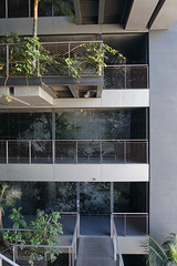 2018-04-FL-183516 (acme london) Tags: barcelona bridges corridor fira fireescape hotel jeannouvel landscape planting renaissancehotelfira spain stairs staricase