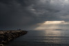 Light breakthrough (Arnø N°XX) Tags: marseille sea mer méditerranée ray rayon seascape provence cloud