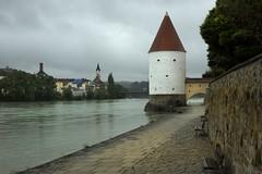 Passau on the river Inn (donachadhu) Tags: passau austria hitler danube cruise inz inn
