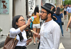 taste this! (poludziber1) Tags: street streetphotography summer singapore city colorful cityscape color colorfull capital people urban travel