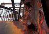 Rhwd - Pont y Bermo (Rhisiart Hincks) Tags: tyllog eaten iron fer burdin houarn iarann haearn henthouarn railway rheilffordd mawddach barmouth abermaw ybermo gwynedd meirionnydd zubi droichead bridge pont decay dirywiad mergl rust herdoil meirg rouille rhwd